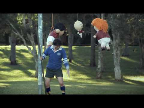 """Toyota """"Legendary moments"""" Wally Lewis TVC"""