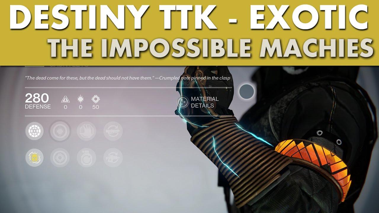 Ttk destiny exotics tracker