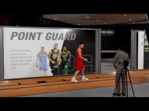 How to make CJ Moccullum build in NBA2k19