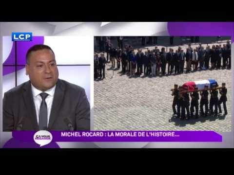 Michel Rocard : la morale de l'histoire .