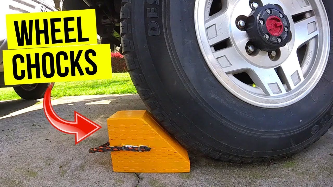 Wheel Chocks for your Car, Truck or RV