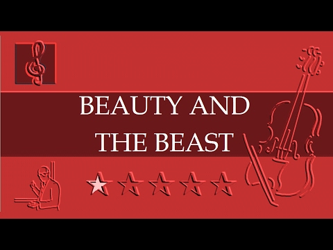 Violin Notes Tutorial - Beauty And The Beast - Disney (Sheet Music)