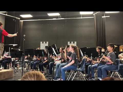 Rhythms and Riffs - Brian Balmages - Schimelpfenig Middle School - Symphonic Band 2019 May 6, 2019