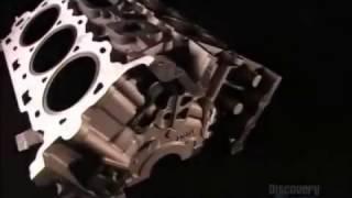 Họ làm như thế nào  Đúc khối lốc máy của động cơ ô tô