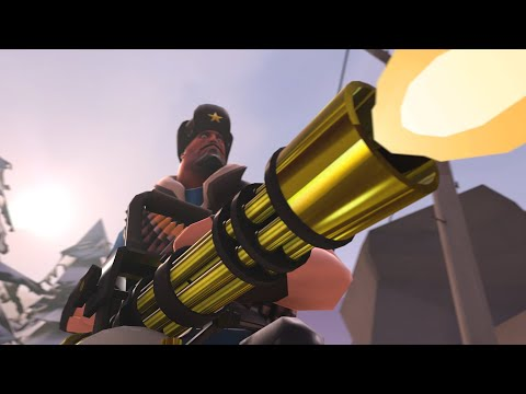 TF2 - Professional Killstreak Australium Minigun Gameplay [60 FPS]