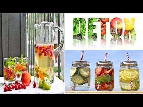 Làm nước detox giảm cân, tiêu mỡ, đẹp da siêu nhanh