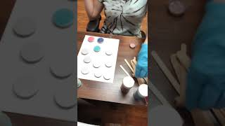 EASY DIY How to Epoxy and glitter Phone grips or pop mushrooms DIY