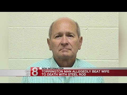 Police: Man used steel rod to beat 79-year-old wife to death