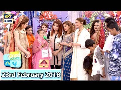 Good Morning Pakistan - Makeup Competition Finale - 23rd February 2018 - ARY Digital Show