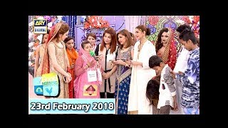 Good Morning Pakistan - Makeup Competition Final - 23rd February 2018 - ARY Digital Show