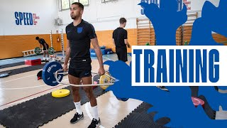 Young Lions Hard at Work in the Gym | Inside Training | U21 England