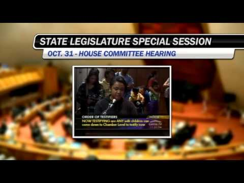 Hawaii Special Session enters Day Five