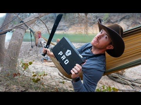 Overnight River Fishing | CAMPING IN HAMMOCKS?!