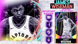 GALAXY OPAL JAMES WISEMAN GAMEPLAY!  THE BEST CENTER IN THE AUCTION HOUSE! NBA 2k20 MyTEAM