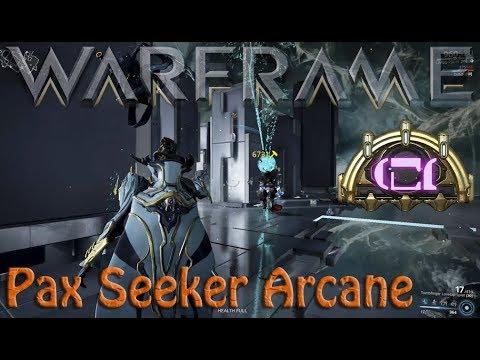 Warframe - Pax Seeker Arcane thumbnail
