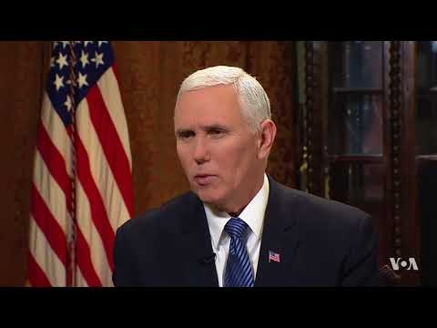 Vice President Pence on the Iran Protests