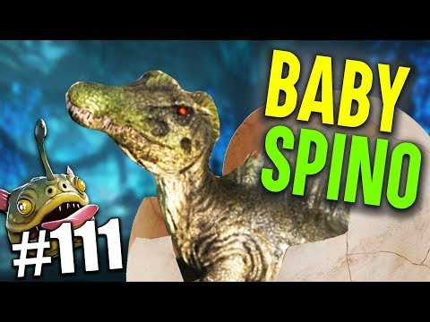 ARK ABERRATION | BABY SPINO #111