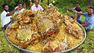 Full Goat Legs Biryani | Traditional Full Lamb Biryani By Our Grandpa