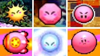 Kirby Canvas Curse - All Copy Abilities