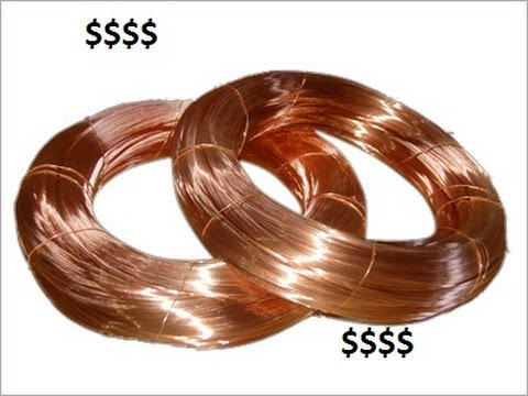 Scrapping Copper- Copper Insulated Wire- Getting the best cash for ...
