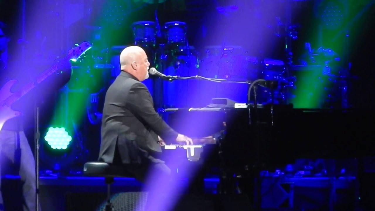 Billy Joel Scenes From An Italian Restaurant Msg 4 3 15 Youtube