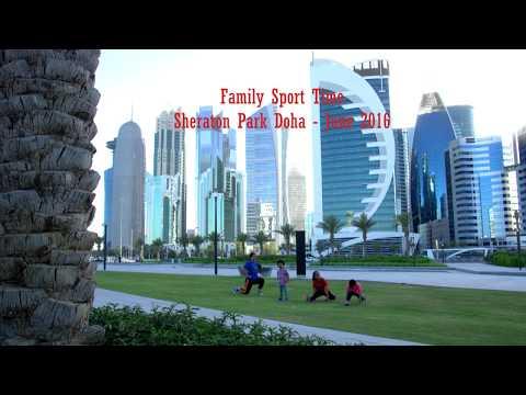 Sheraton Park Doha - Family Sport Time (Rimbun Turnip Family)