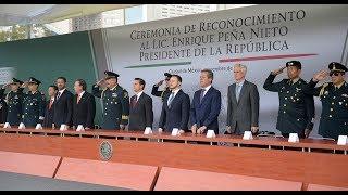 Ceremonia de Reconocimiento a Enrique Peña Nieto, Presidente de los Estados Unidos Mexicanos