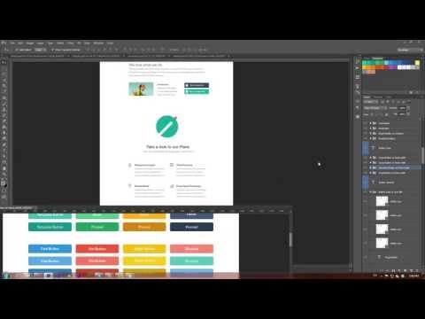 how-to-create-a-website-in-flat-design-style-(video-tutorial)