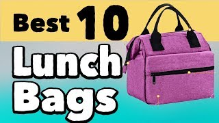 10 Best Lunch Bags for Women and Men   Stylish Lunch Bags for Work   Insulated Lunch Bags Cheap