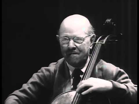 Pau (Pablo) Casals Master Class: Haydn D Major Concerto 1st movement