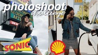 UGLY Location Photoshoot Challenge with iPhone + Tips!!