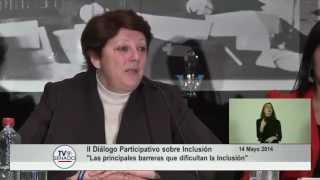 Rosa Blanco, OEI - II Diálogo Participativo sobre Inclusión