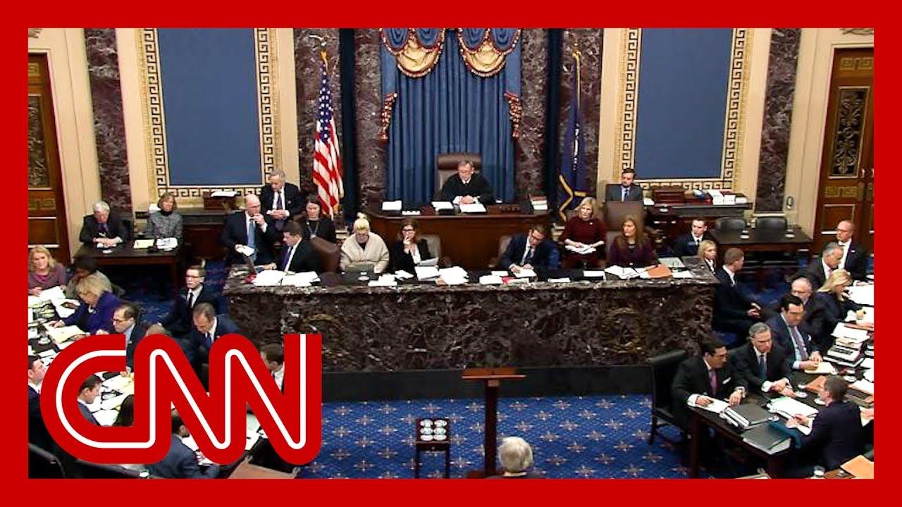 The question key GOP senators asked Trump's legal team