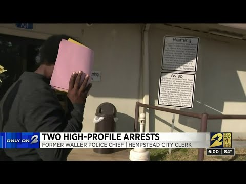 2 County Officials Taken Into Custody In Unrelated Investigations