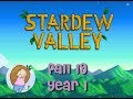 Let's Play Stardew Valley | #25 Fall 19 Year 1