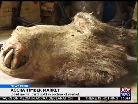Accra Timber Market - News Desk on Joy News (4-5-18)