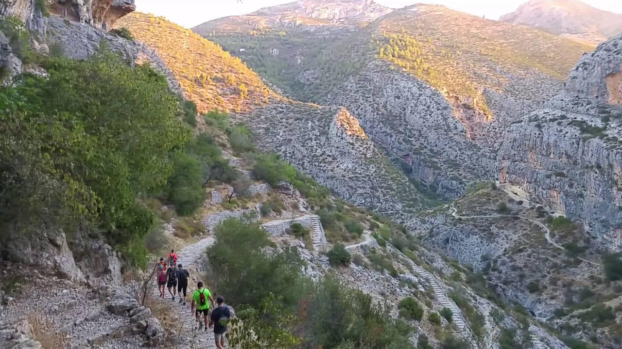 Senderismo Barranco del Infierno (Alicante)