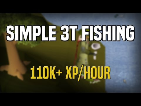 Simple 3t Fishing | 110k+ Exp/Hr