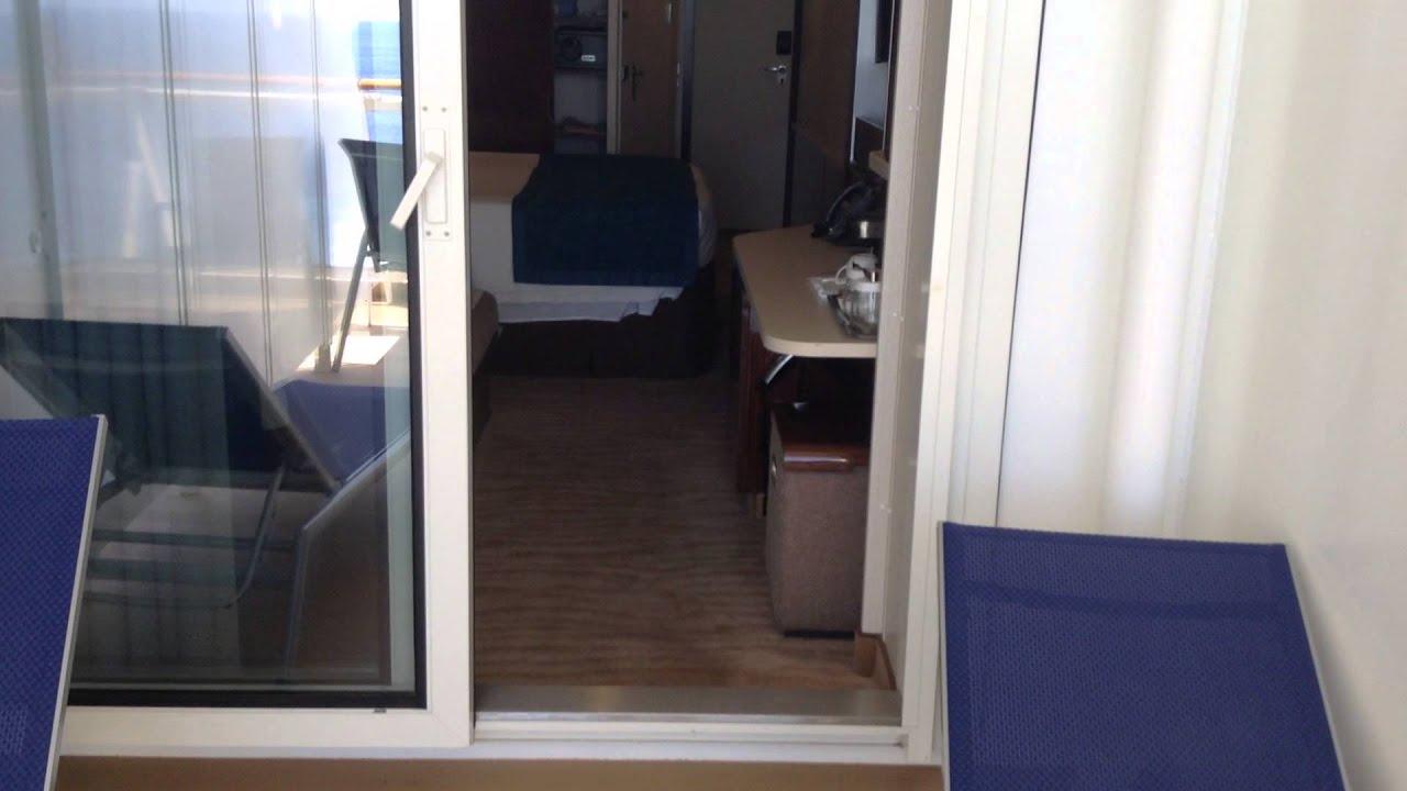 Norwegian getaway b1 aft balcony 9322 youtube for Balcony translate