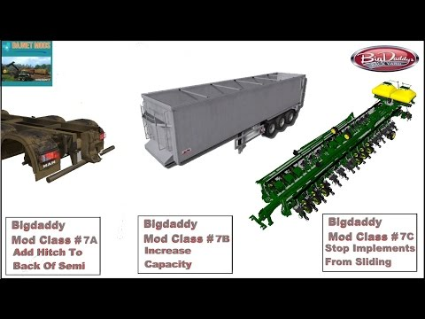 Adding A Trailer & Trailer Low Attacher To A Semi Trailer & Friction Scale On Tires