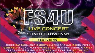 LIVE FS4U CONERT PART 1
