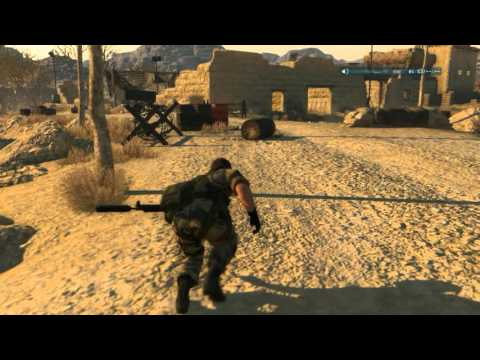 C3W Mission Gameplay (modded) METAL GEAR SOLID V: The Phantom Pain