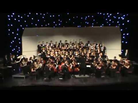 Ola High School Choral Orchestra - Do You Hear What I Hear
