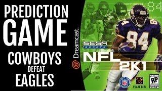 NFL 2K1 - SEGA DREAMCAST - PREDICTION GAME: Cowboys defeat Eagles