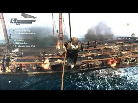 Assassin's Creed 4 Black Flag - Ship Boarding