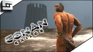 Conan Exiles Gameplay - Getting Spanked by Building! E13