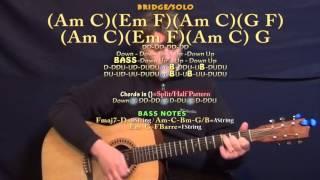 Rain (Breaking Benjamin) Guitar Lesson Chord Chart