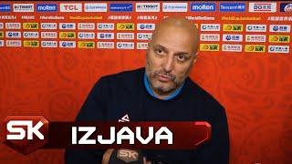 Aleksandar Đorđević posle pobede nad Filipinima u 2. kolu Svetskog prvenstva   SPORT KLUB KOŠARKA