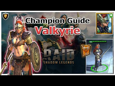 RAID Shadow Legends   Champion Guide   Valkyrie