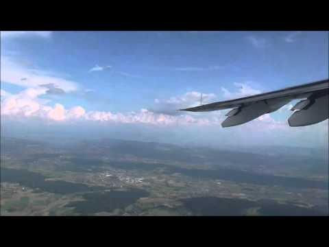 TIMELAPS/FLIGHT : ZURICH TO GENEVA IN 40 SECONDS